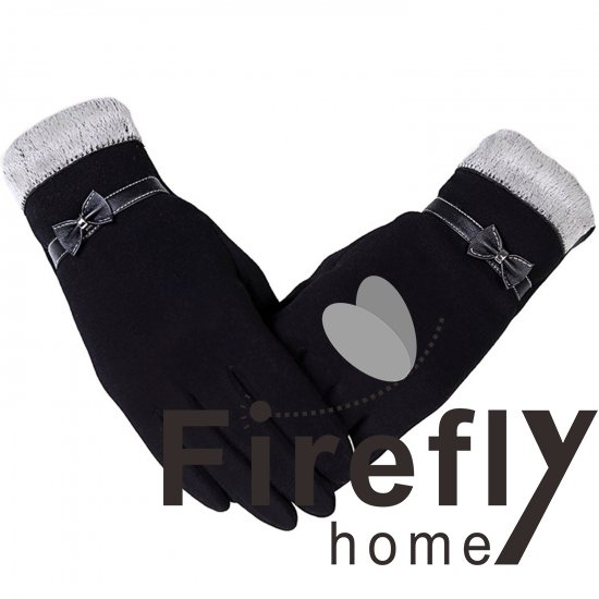 Fireflyhome Women's Winter Screentouch Thick Warm Weather Gloves - Click Image to Close